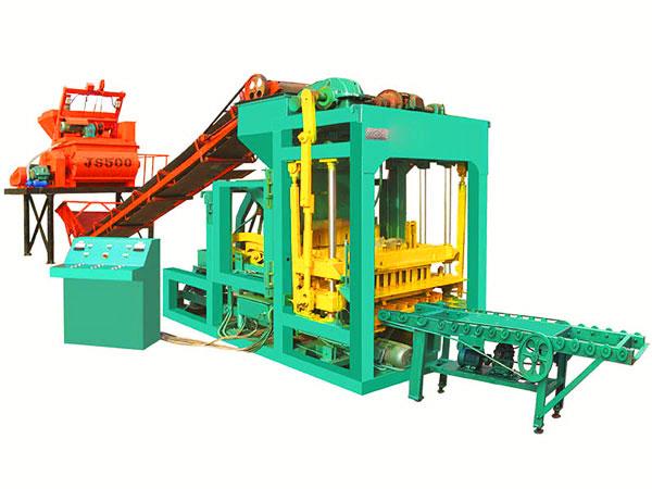 QT6-15 hydraulic brick making machine