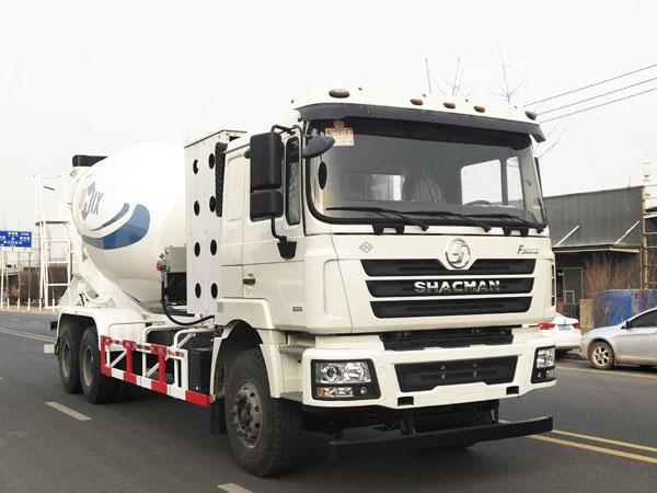 12m3 concrete mixer truck shipment