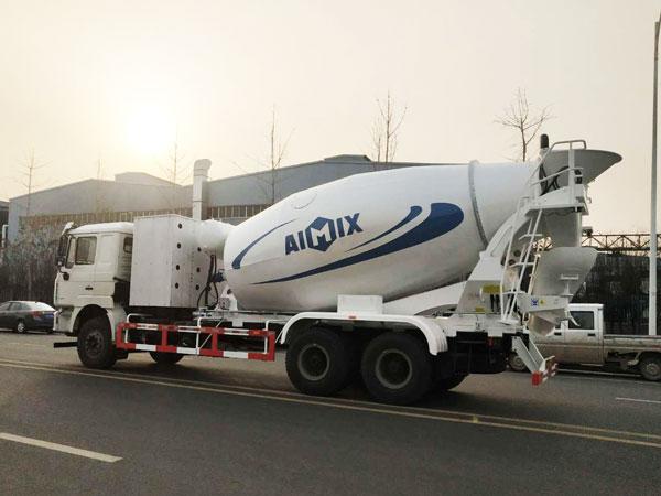 12m3 concrete truck