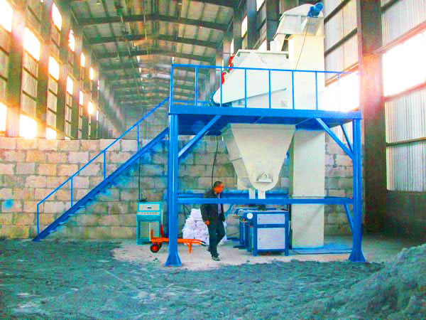 GJ10 ready mix plaster plant
