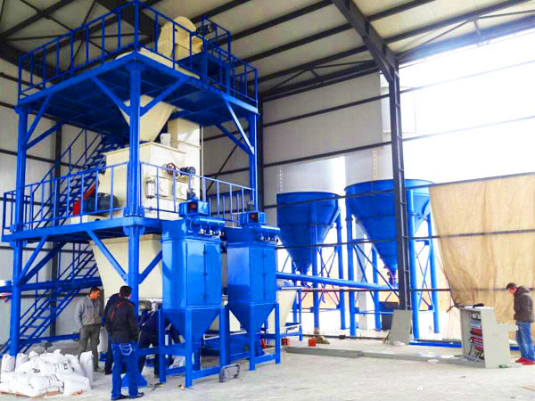 GJ15 ready mix plaster plant