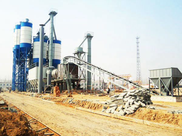GJ50 ready mix mortar mixing plant