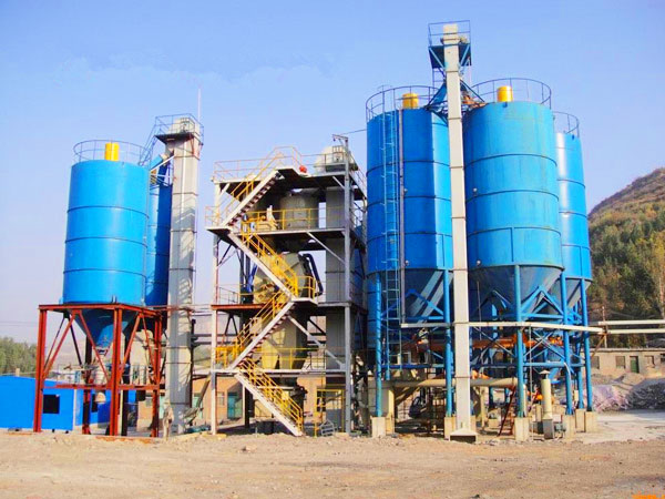 GJ80 ready mix plaster plant