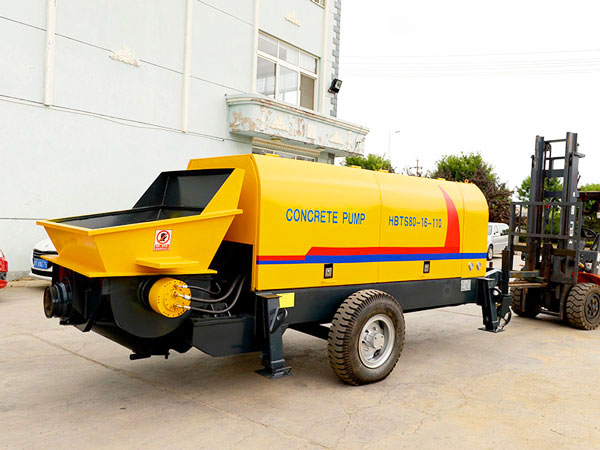 HBT80 electric portable concrete pump for sale Philippines