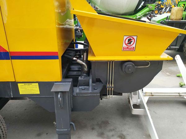 HBTS40 diesel concrete pump Kazakhstan