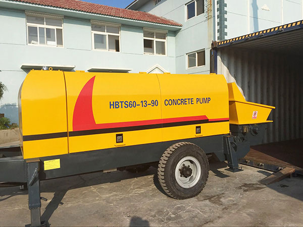 HBTS60 electric concrete pump