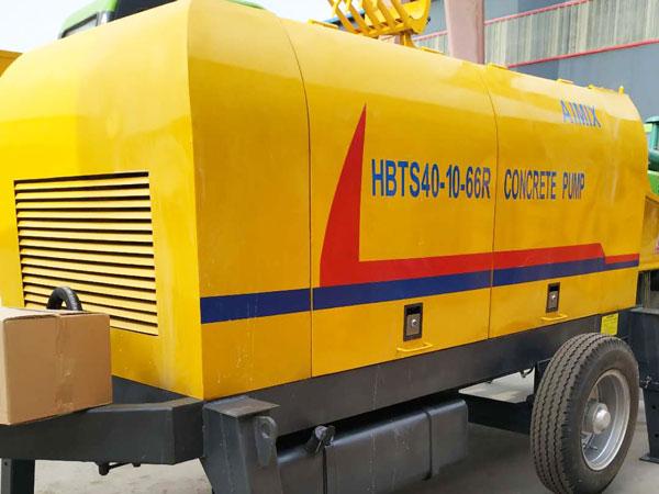 HBTS40 diesel concrete pump