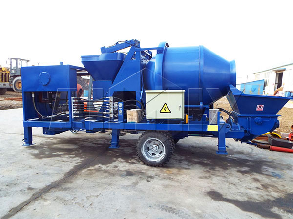 JB30R-diesel engine concrete pump