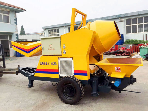 JZB200-10 concrete mixer pump