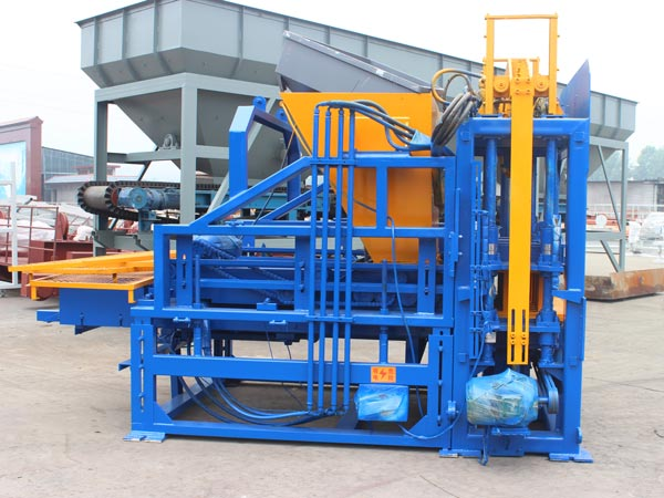 ABM-3S semi automatic block machine