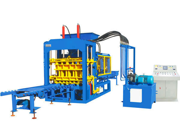 ABM-3S fully automatic fly ash brick machine