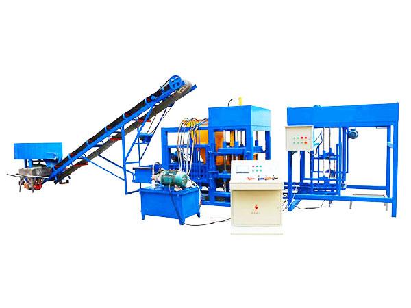 QT4-25 fully automatic fly ash brick making machine