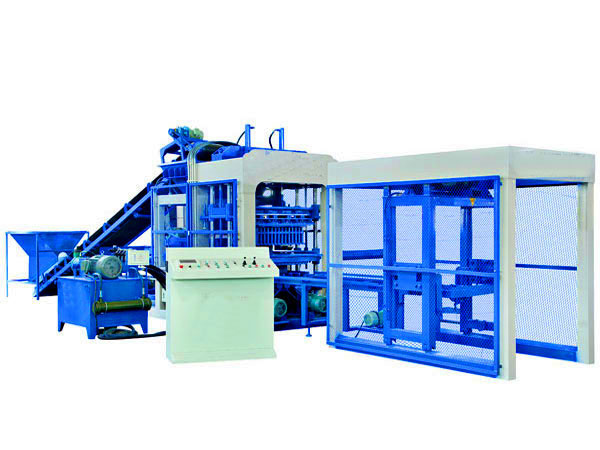 ABM-8S fully automatic fly ash brick machine
