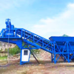 Feedback From Customer-YHZS35 Mobile Concrete Batching Plant Philippines