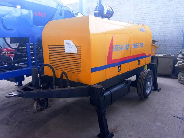 HBTS40R diesel concrete pump