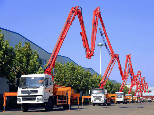 concrete pump truck AIMIX GROUP