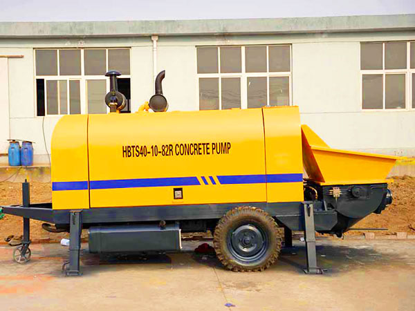 HBTS40R diesel small concrete pump for sale in Philippines