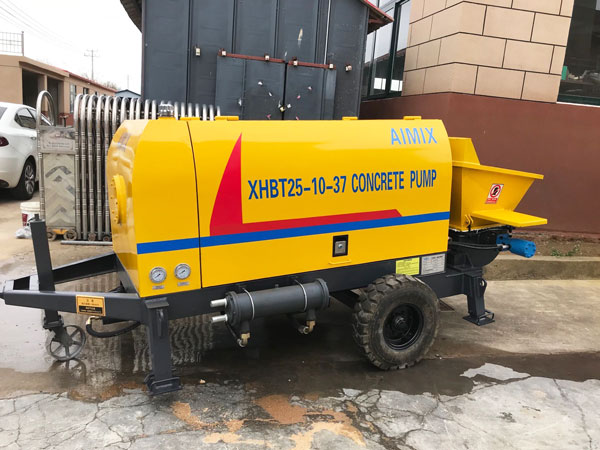 electric concrete pump Russia