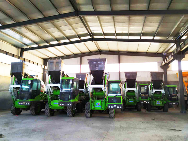 many self loading concrete mixers are in stock