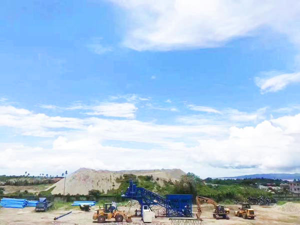 overview of mobile concrete batching plant Philippines