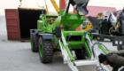 shipment of 3.2 cub self loading mobile concrete mixer