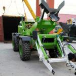 3.2 Cub Self Loading Mixer And Diesel Concrete Pump Kazakhstan Shipment