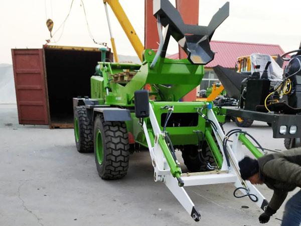 embarque de misturador de concreto móvel com carregamento automático de 3.2 cub