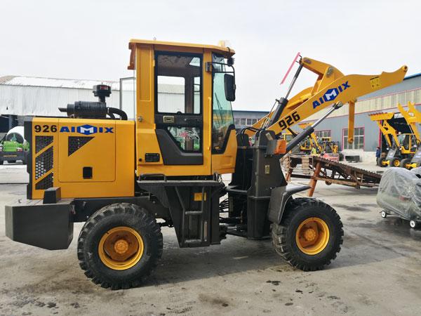 wheel loader to Kazakhstan