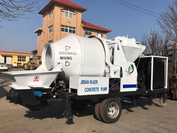 Ecuador diesel concrete mixer pump