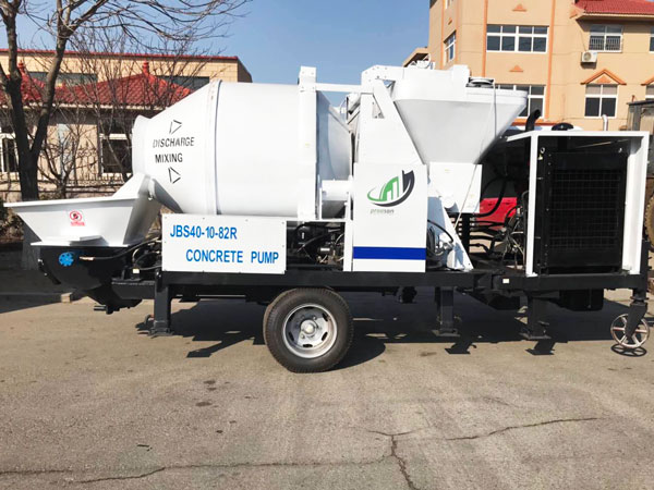 Ecuador diesel concrete pump mixer