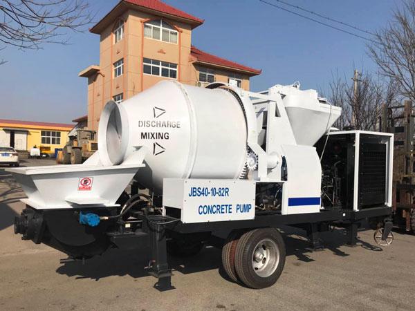 Ecuador small diesel mixer pump