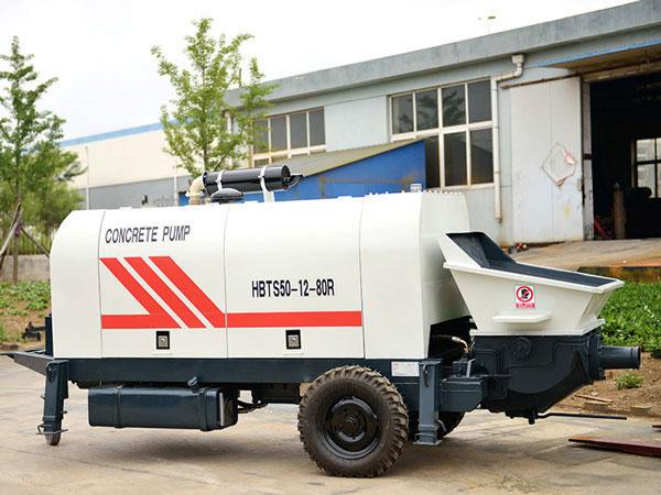 HBTS50R diesel concrete pump Pakistan