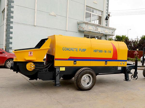 ABT80D electric concrete pump Malaysia
