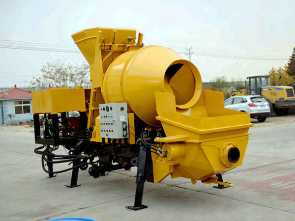 JBS30-JZC350 concrete mixer pump with diesel engine