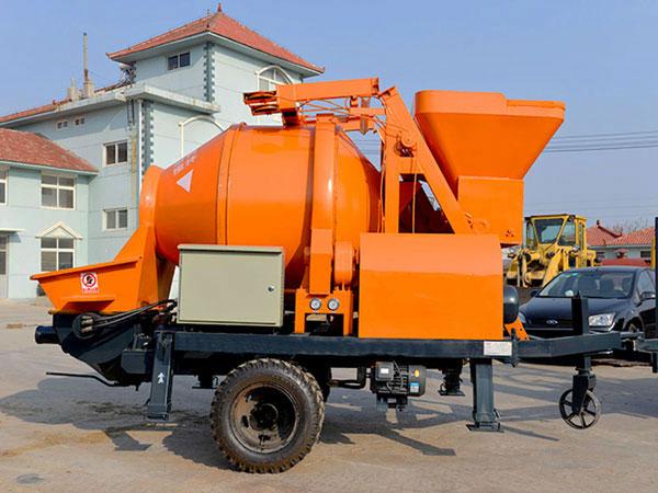 ABJZ30D electric concrete mixing pump
