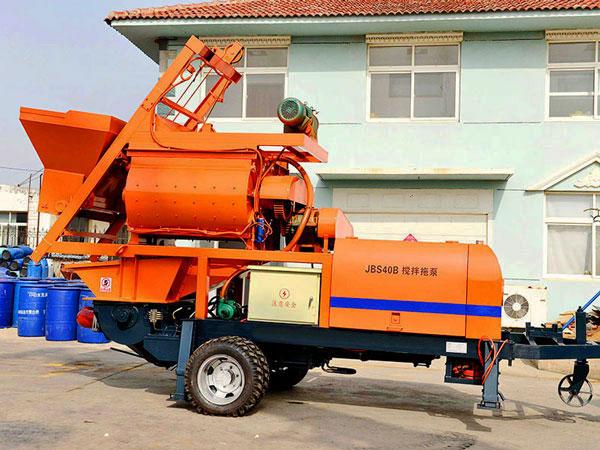 ABJZ40D-JS750 compulsory concrete mixer pump