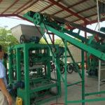 Congratulations Successful Installation Of QT4-15 Automatic Brick Making Machine In Bangladesh
