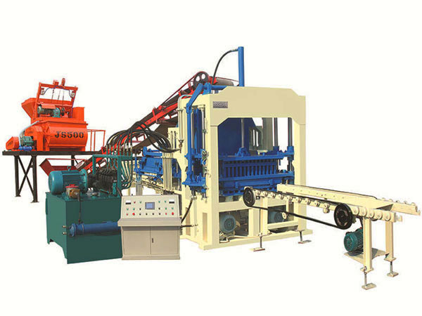 ABM-8S solid blocks making machine
