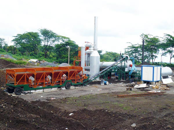 DHB60 drum mix plant Indonesia