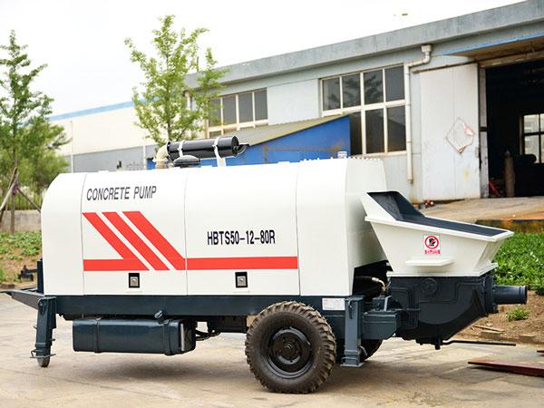 HBTS50R concrete pump