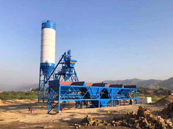 HZS25 concrete batch plant
