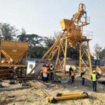 Congratulations Successful Installation Of HZS35 Stationary Concrete Batching Plant Bangladesh