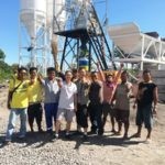 Successful Installation Of HZS50 Concrete Batching Plant For Sale philippines