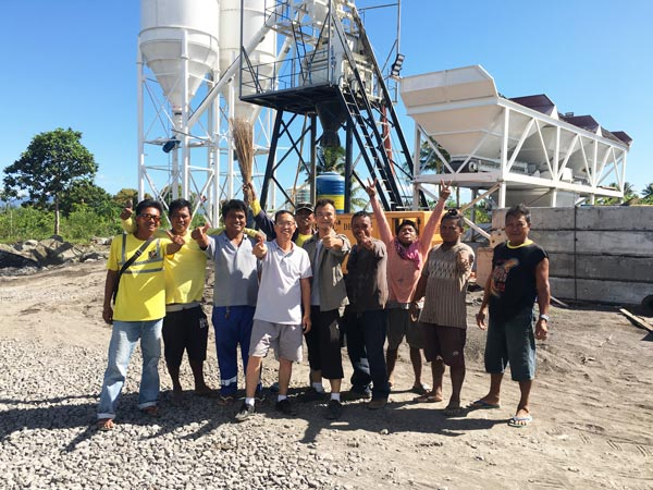 HZS50 batching plant philippines