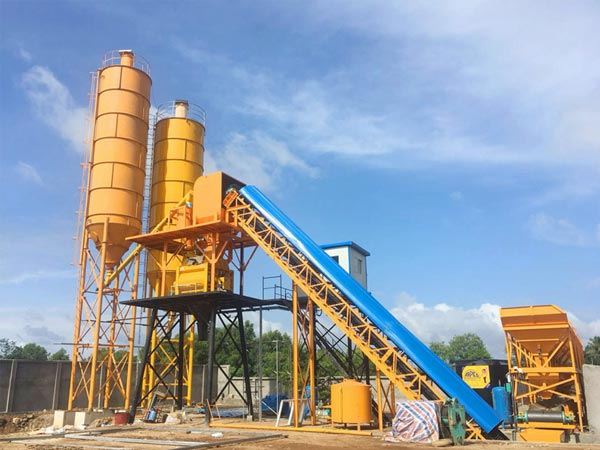 HZS60 batch plant for sale