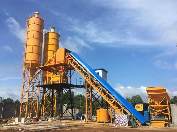 HZS60 concrete plant