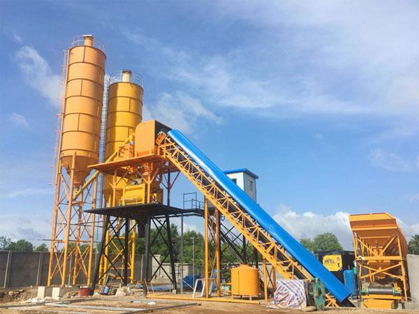 AJ-60 wet mix concrete plant