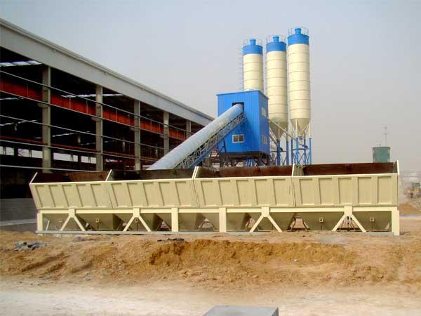 HZS90 concrete plant