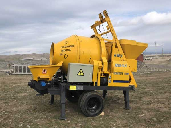 ABJZ30D concrete mixer pump