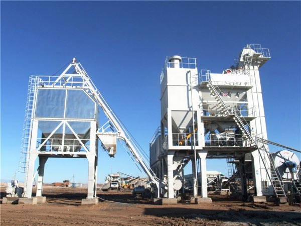 LB1200 stationary type asphalt plant